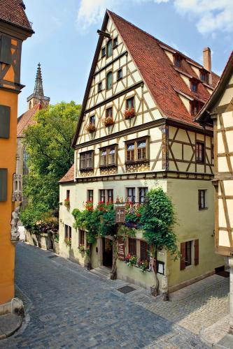 Hotel Reichsküchenmeister Das Herz von Rothenburg