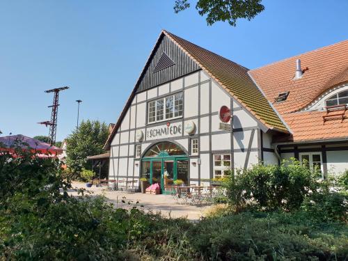 Wirtshaus im Feriendorf Alte Schmiede