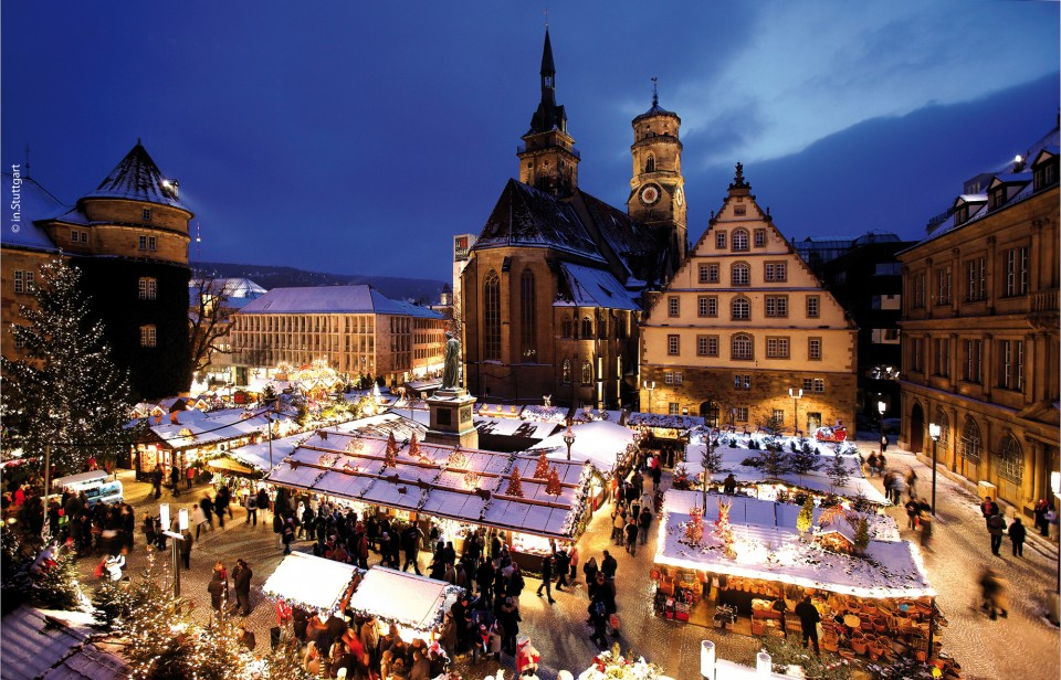 stuttgarter weihnachtsmarkt die landeshauptstadt in festlichem gewand. Black Bedroom Furniture Sets. Home Design Ideas