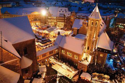 Winterlicher Braunschweiger Weihnachtsmarkt