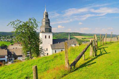 Eversberg Kirche im Sauerland
