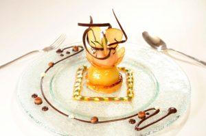 Dessertkreation Restaurant Gregors im Hotel Die Wutzschleife
