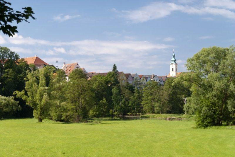 Blick auf Neustadt in der Oberpfalz