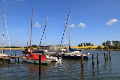 Bootsanleger auf der Schlei