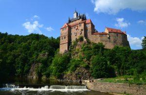 Burg Kriebstein im Sächsischen Burgeland