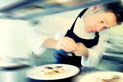 Florian Hartmann im Restaurant Philip Soldan in Frankenberg