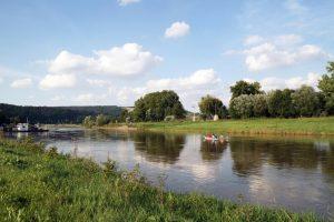 An der Weser bei Polle