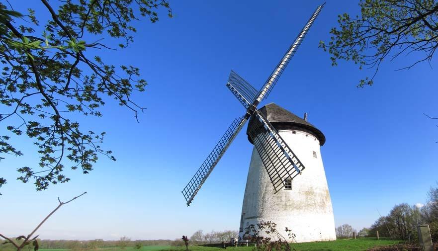 Windmühle am Niederrhein