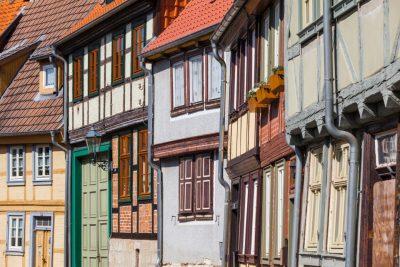 Fachwerkhäuser der Welterbestadt Quedlinburg