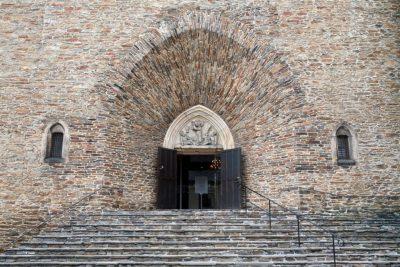 Portal der St. Annen-Kirche, Sachsen, Deutschland, Annaberg-Buchholz