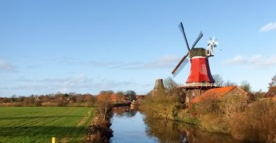 Windmühle Ostfriesland - Südbrookmerland