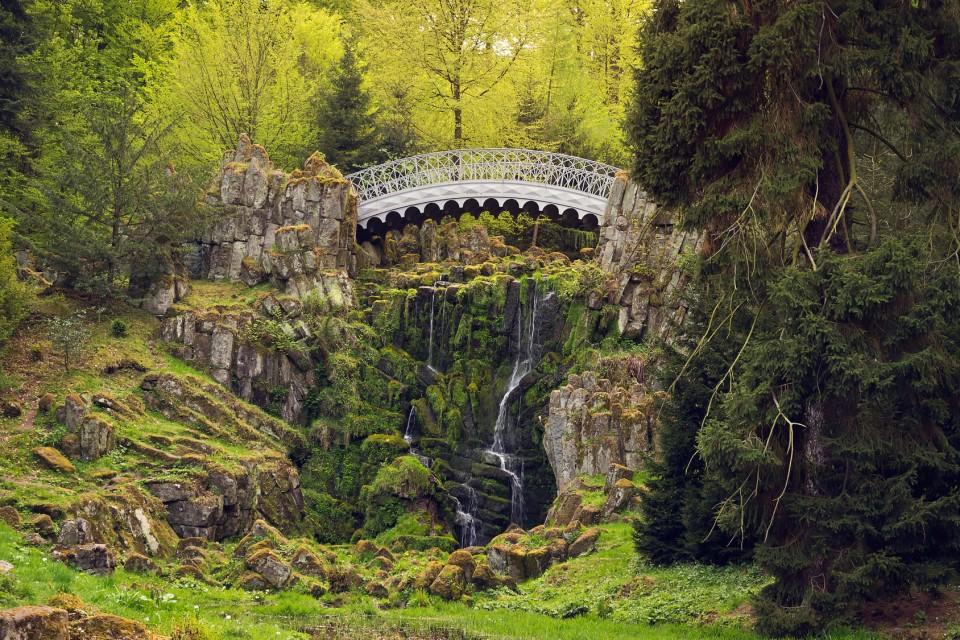 Teufelsbrücke im Bergpark Wilhelmshöhe