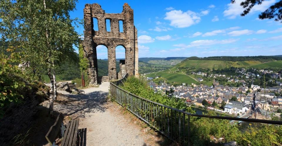 Burgruine Grevenburg Traben-Trarbach an der Mosel
