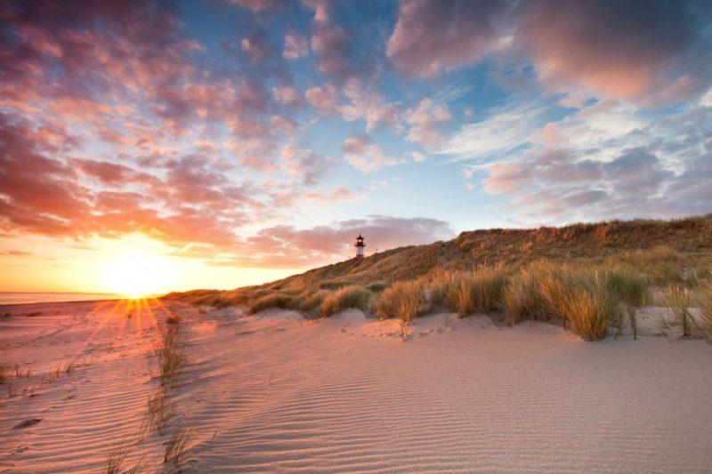 Sylt am Morgen am Strand
