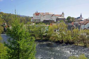 Colditz beherbergt eine sehenswerte Innenstadt und das Schloss