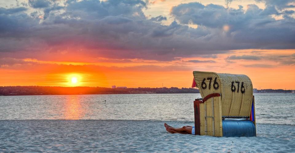 Strandurlaub auf der Insel Fehmarn an der Ostsee