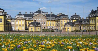 Residenzschloss Bad Arolsen im Frühling