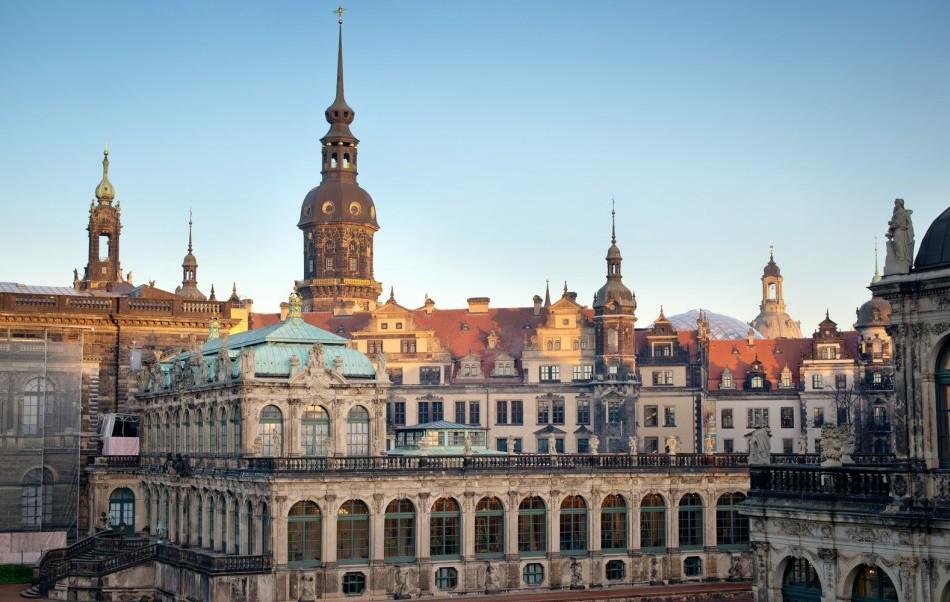 Dresdner Altstadt mit Zwinger
