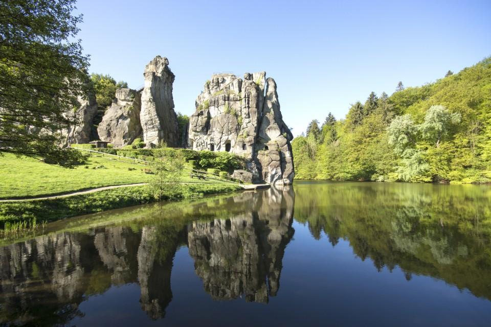 Externsteine, Teutoburger Wald, Deutschland