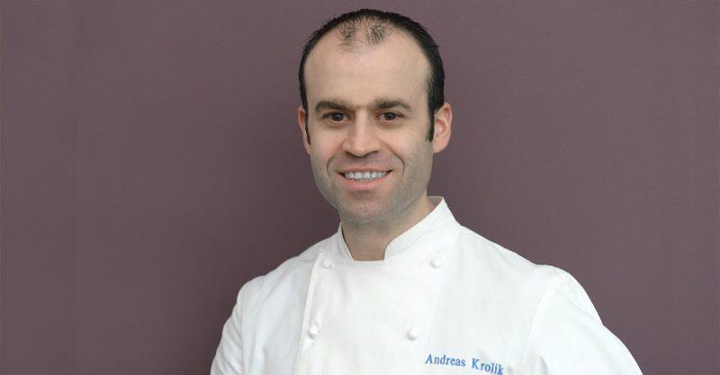 Küchenchef im Restaurant Lafleur Andreas Krolik