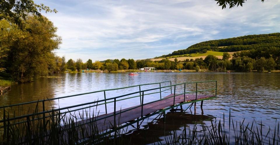 Porstendorfer See in Thüringen