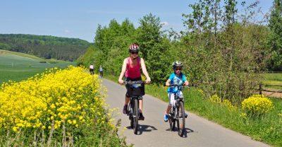 Radtour im Ilmtal - Ilmtal-Radweg