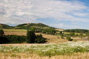 Landschaft im Saaleland - Thüringen