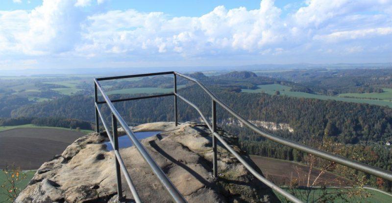 Ausblick auf die Sächsische Schweiz