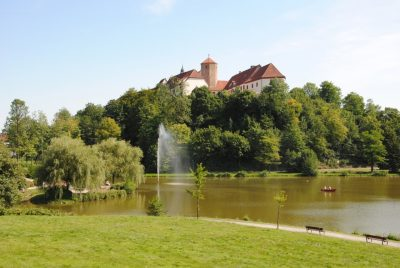 Schloss in Bad Iburg am Charlottensee