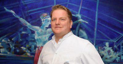 Küchenchef des Tiger-Gourmetrestaurants, Christoph Rainer