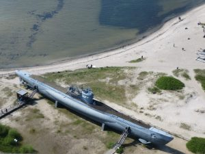 Laboe Aussicht auf U-Boot