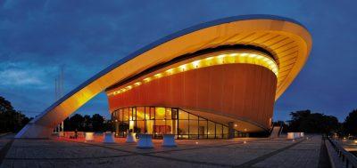 Berlin Kongresshalle im Tiergarten bekannt auch als schwangere Auster, oder auch Haus der Kulturen