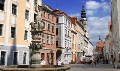 Stadtansiccht Görlitz Brüderstraße