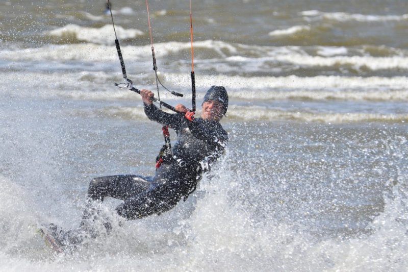 Strandsegeln, Kite Fun in :St. Peter-Ording an der Nordsee
