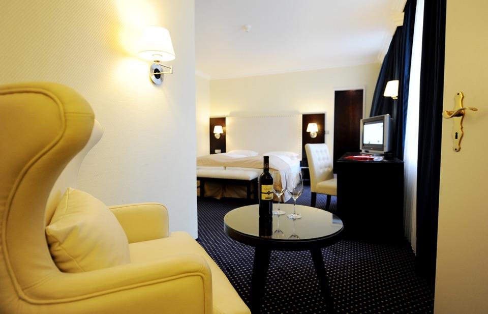 Zimmer im Hotel Haverkamp in Bremerhaven