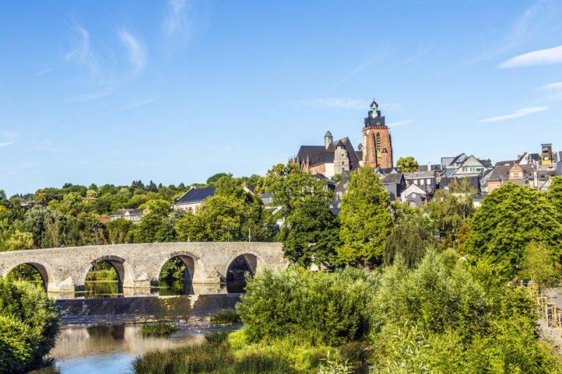 Historische Lahnbrücke bei Wetzlar