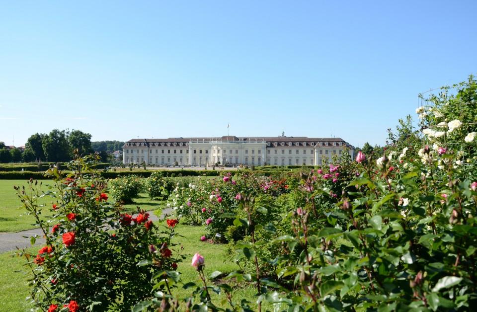 Blühendes Barock im Schloss Ludwigsburg