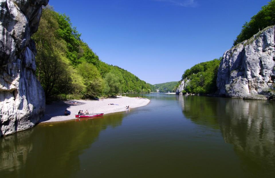 Die Fränkische Alb: Wo die Donau durchbricht