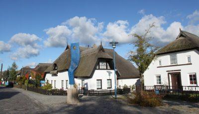 Fischerdorf Wieck an der Ostsee bei Greifswald