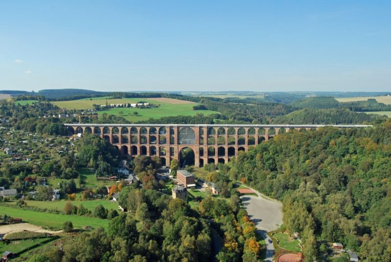 Göltzschtalbrücke in Netzschkau im Vogtland