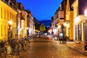 Abendstimmung in Greifswald
