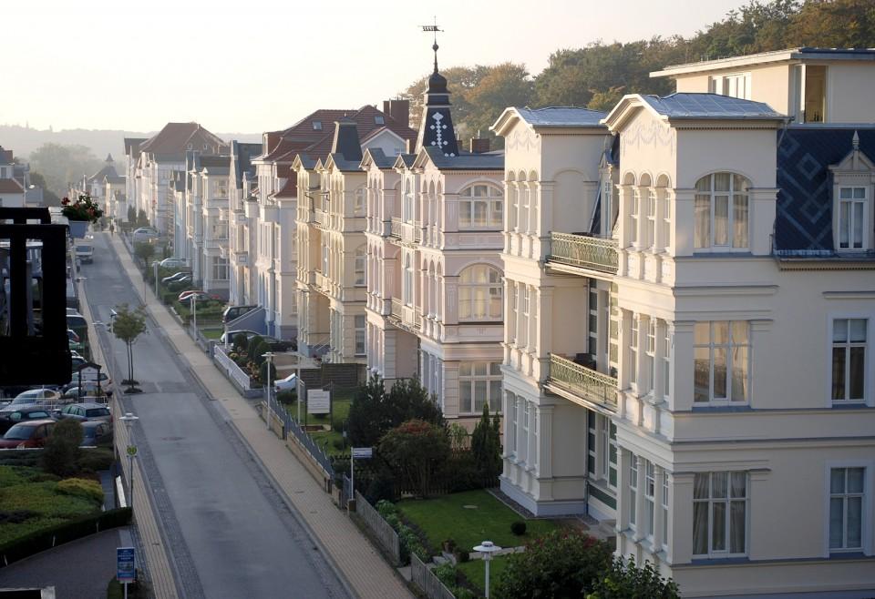Jugendstilvillen in Bansin auf Usedom