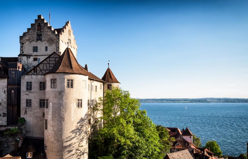 Schloss Meersburg am Bodensee