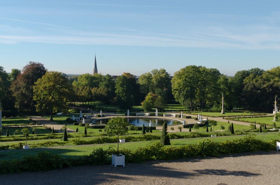 Schlosspark Sans Souci in Potsdam