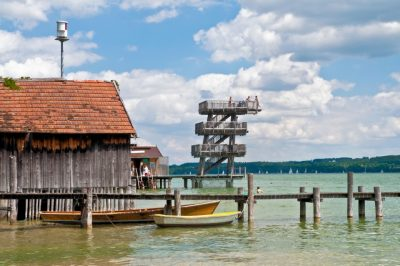 Seefreibad in Utting am Ammersee