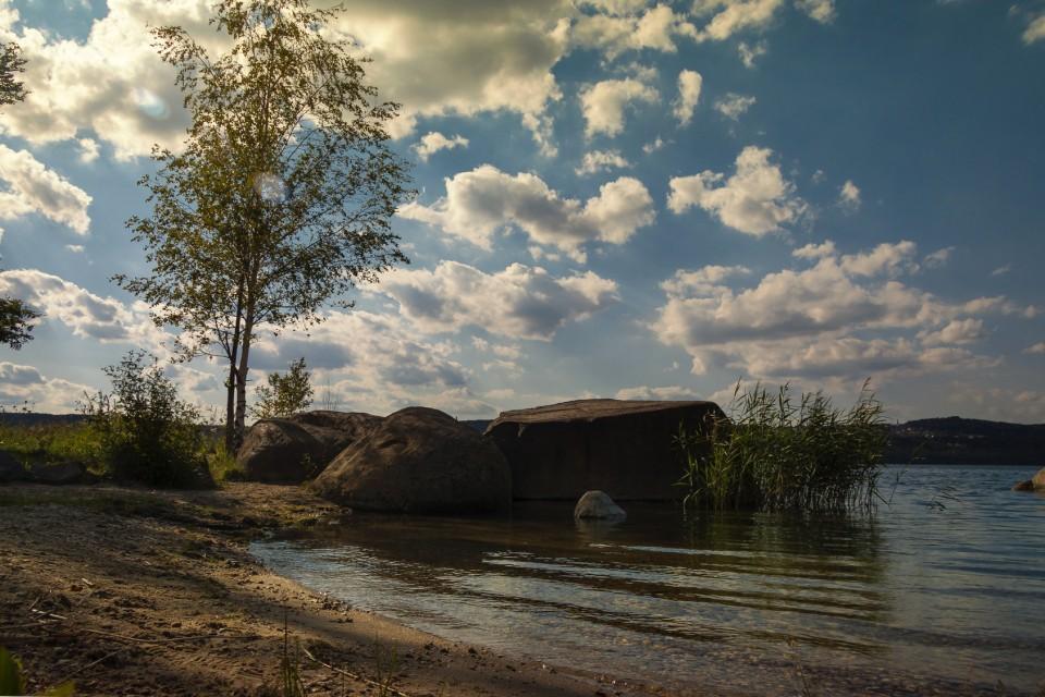 Sommer am Berzdorfer See