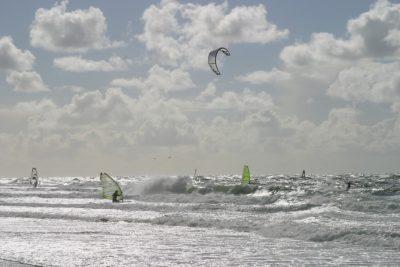 St. Peter-Ording: Wind- und Kitesurfen an der Nordsee