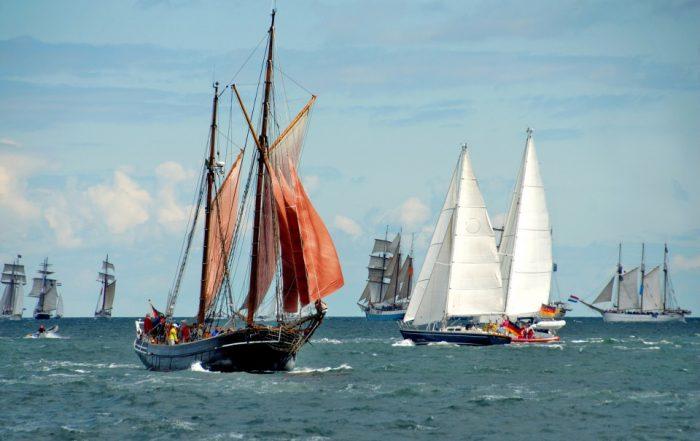 Kieler Woche Windjammerparade