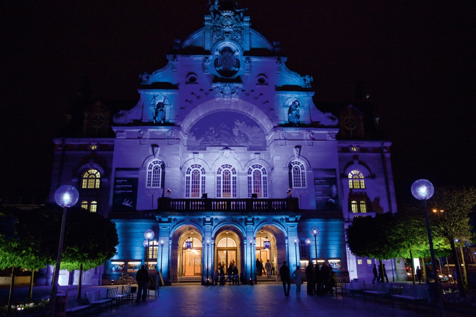 Blaue-Nacht - Staatstheater Nürnberg (Opernhaus) -- Foto: Jutta Missbach