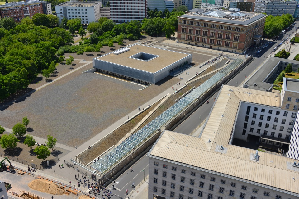 Topographie des Terrors, Dokumentationsstätte, Gedenkstätte, Kreuzberg, Wilhelmstraße, Berlin